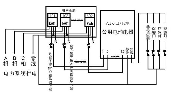 使微处理芯片工作电源稳定可靠,抗干扰能力强;其工作原理,将楼道灯及